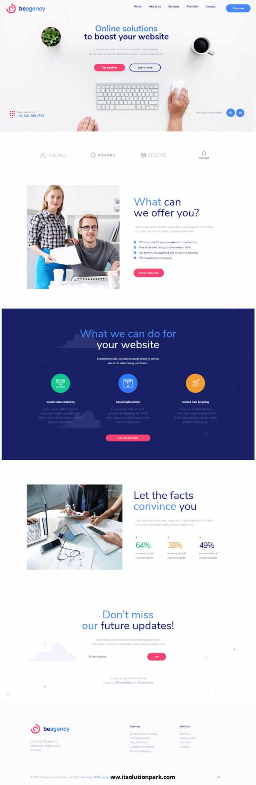 WordPress Website Design, company website design, business website, agency website design